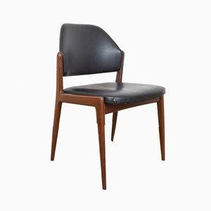 Chaise d'Appoint Mid-Century par Hartmut Lohmeyer pour Wilkhahn, 1950s