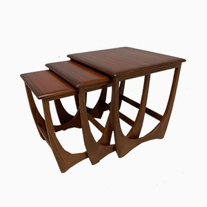 Nesting Tables by Victor Wilkins for G-Plan, 1960s