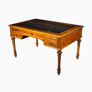 Louis Philippe Schreibtisch aus Nussholz, 1860er