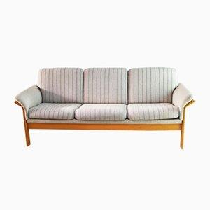 Dänisches Mid-Century Sofa mit Gestell aus Buche