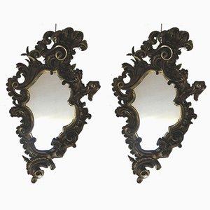 Espejos estilo Louis XV antiguos. Juego de 2