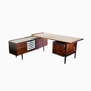 Model 205 Executive Desk by Arne Vodder for Sibast, 1960s