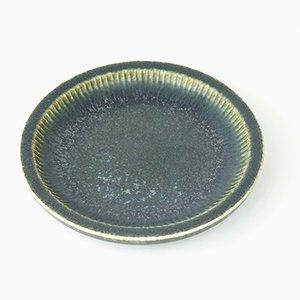 Plato SGX de cerámica de Carl-Harry Stålhane para Rörstrand, años 50
