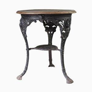 Mesa de bar de hierro fundido de A. Reynolds