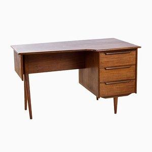 Moderner Mid-Century Schreibtisch aus Teak von Peter Løvig Nielsen, 1960er