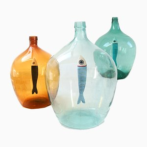 Go Fish Lamps by Patina Lux, Set of 3