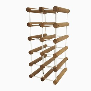 Teak Wine Rack by Richard Nissen for Langaa, 1960s