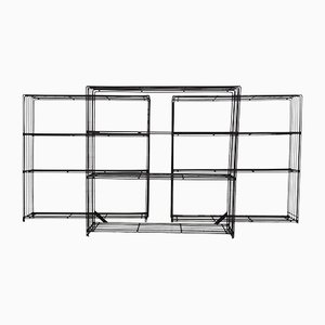 Bookcases by Tjerk Reijenga for Pilastro, 1960s, Set of 3