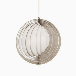 Lampe à Suspension Moon par Verner Panton pour VerPan, 1960s