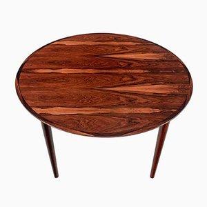 Table de Salle à Manger Modèle 204 Vintage Extensible en Palissandre par Arne Vodder pour Sibast
