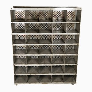 Post Office Metal Cabinet, 1970s
