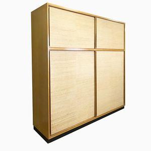 Large Sliding Door Wardrobe by Dieter Wackerlin for Idealheim, 1950s