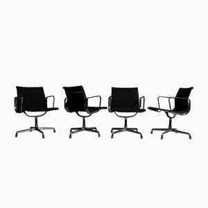 Vintage EA108 Chairs by Charles and Ray Eames for Vitra, Set of 4