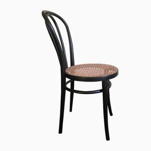 Schwarzer Stuhl von Thonet, 1970er