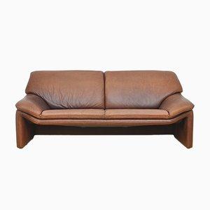 Sofá de cuero de Laauser, años 90