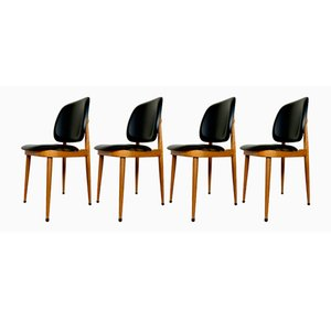 Pegase Chairs by Pierre Guariche for Baumann, 1960s, Set of 4