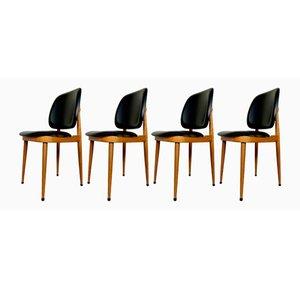 Pegase Stühle von Pierre Guariche für Baumann, 1960er, 4er Set