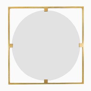 Specchio Timeless Geometric Square di Brass Brothers