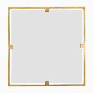 Zeitloser quadratischer Spiegel von Brass Brothers