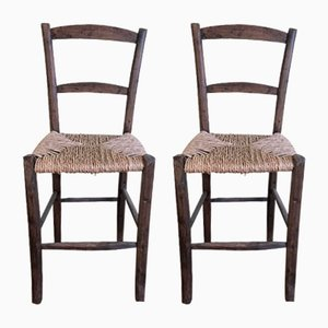 Vintage Tavern Chairs, 1920s, Set of 2