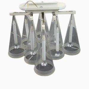 Lámpara de techo Fucsia 8 vintage de Achille Castiglioni para Flos, años 90