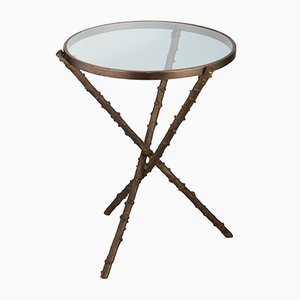 Small Rosehip Stalks Side Table from Brass Brothers
