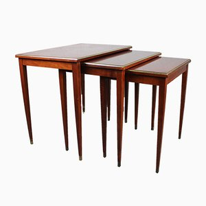 Vintage Scandinavian Nesting Tables