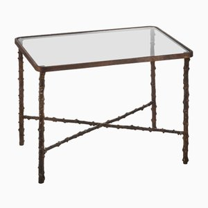 Medium Rectangular Rosehip Stalks Table from Brass Brothers