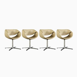 Little Perillo Swivel Chairs by Martin Ballendat for Dauphin Home, Set of 4