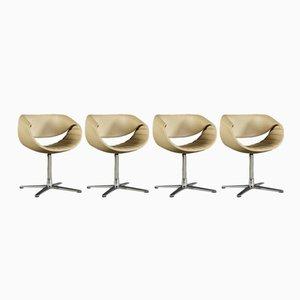 Petites Chaises Pivotantes Perillo par Martin Ballendat pour Dauphin Home, Set of 4