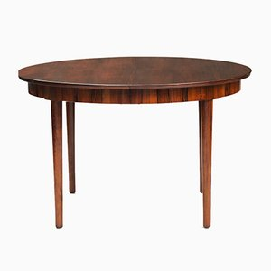 Mid-Century Danish Rosewood Dining Table from Central Mobler, 1960s