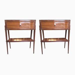 Bedside Tables, 1960s, Set of 2