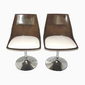 Space Age Swivel Chairs, 1970s, Set of 2
