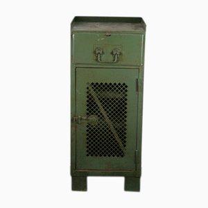Industrieller Werkstattschrank aus Metall, 1950er