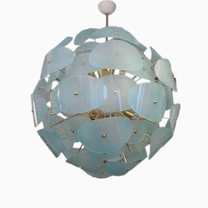 Lustre Sputnik Vert, Italie, 1970s