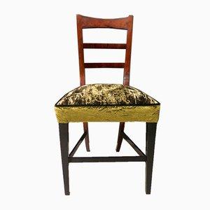Österreichischer Biedermeier Stuhl aus Nussholz, 1820er