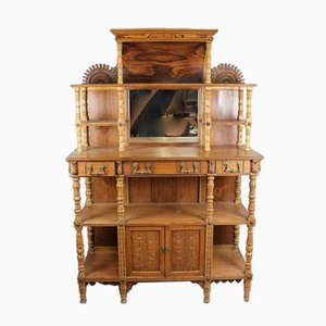 Antique Colonial Side Cabinet, 1820s
