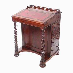 Antique Rosewood Davenport Desk, 1830s