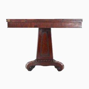Antiker Teetisch aus Mahagoni