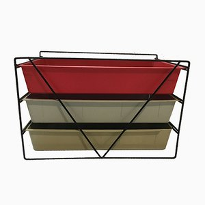 Mid-Century File Rack by Charlotte Perriand