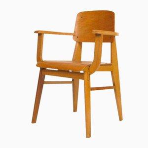 Vintage Wooden Chair by Jean Prouvé, 1942