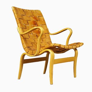 Vintage Model Eva Chair by Bruno Mathsson for Firma Karl Mathsson, 1977