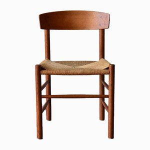 Vintage Model J39 Oak Chair by Børge Mogensen for FDB
