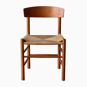 Vintage J39 Oak Chair by Børge Mogensen for FDB