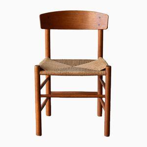 Vintage J39 Stuhl aus Eiche von Børge Mogensen für FDB