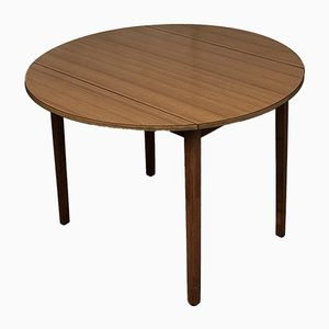 Mid-Century Extending Drop Leaf Dining Table with Gate Leg, 1970s