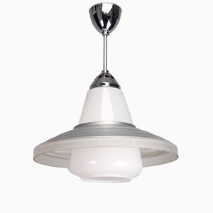 Lampada da soffitto Ikon JST21 Nr.1 - D1 vintage di Adolf Meyer per Zeiss