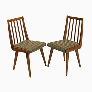 Vintage Dining Chairs, 1960s, Set of 2