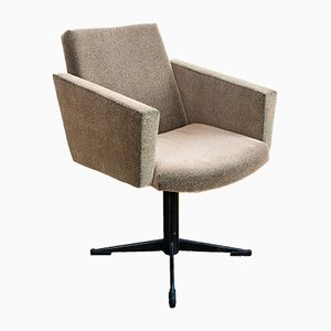 Mid-Century Resowia Swivel Armchair from Rzeszowskie Furniture