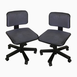 Desk Chairs by Ettore Sottsass for Olivetti Synthesis, 1980s, Set of 2